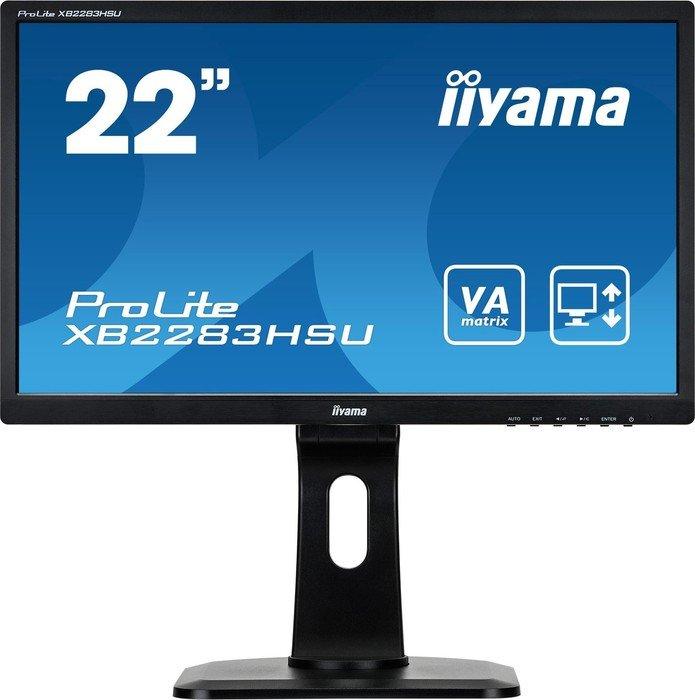 "iiyama ProLite XB2283HSU-B1DP, 21.5"""
