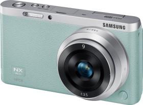 Samsung NX mini grün mit Objektiv NX-M 9mm ED