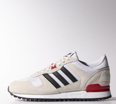 adidas ZX 700 chalk white/core black/red (Damen) (M20979) ab € 54,95