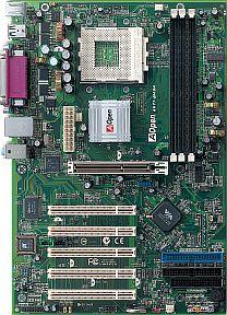 AOpen AK77-400GN, KT400A (PC-3200 DDR) (91.8A710.601)