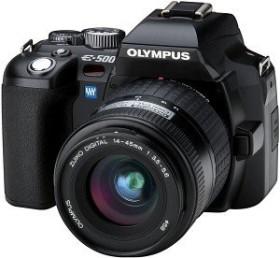 Olympus E-500 schwarz mit Objektiv 14-54mm 2.8-3.5 (E0413204)