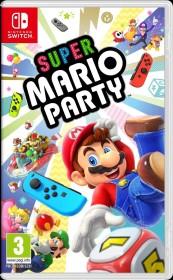 Super Mario Party inkl. Joy-Con Controller grün/neon rosa (Switch)