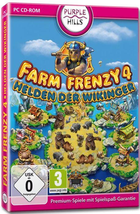 Farm Frenzy 4 - Helden der Wikinger (deutsch) (PC)