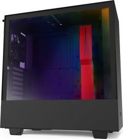 NZXT H510i schwarz/rot, Glasfenster (CA-H510i-BR)