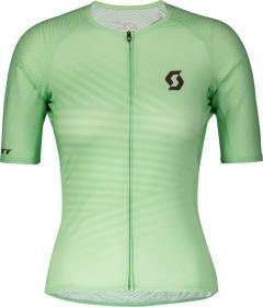 Scott RC Premium Climber Trikot kurzarm mint green/maroon red (Damen) (275316-6457)