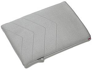 Dicota PadSkin Schutzhülle für iPad 2 grau/rosa (D30250)