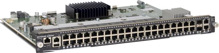 Netgear ProSAFE M6100 I/O Blade Gigabit Managed Switch Modul, 42x RJ-45, 2x SFP+ (XCM8944-10000S)