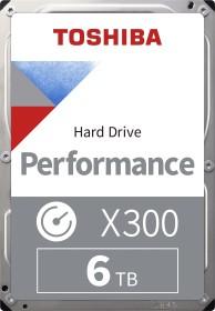 Toshiba X300 Performance 6TB, SATA 6Gb/s, retail (HDWE160EZSTA)