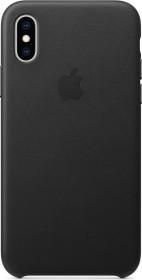 Apple Leder Case für iPhone XS schwarz (MRWM2ZM/A)