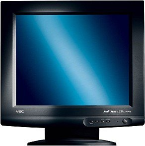 "NEC MultiSync LCD1700NX-BK, 17"", 1280x1024, analog/digital, black"