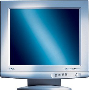 "NEC MultiSync LCD1700NX, 17"", 1280x1024, analog/digital, weiß"