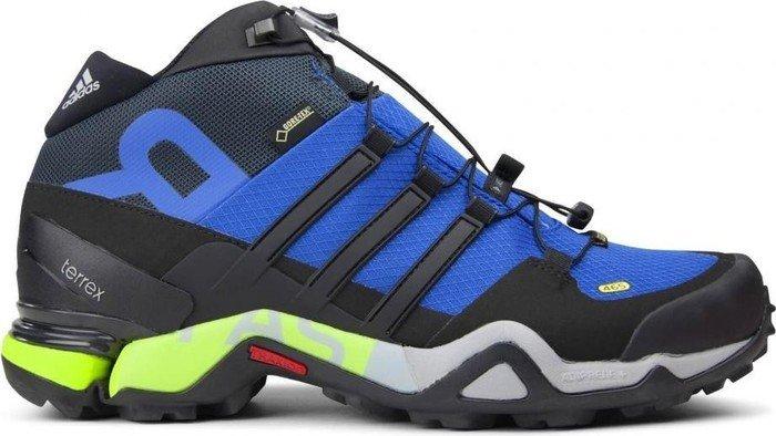 adidas Terrex Fast R Mid GTX blue core black dark grey (Herren) ae533abc332