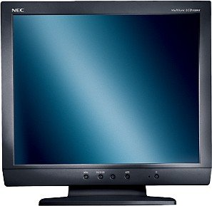 "NEC MultiSync LCD1920NX-BK black, 19"", 1280x1024, analog/digital"