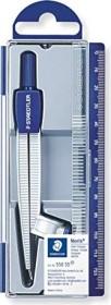 Staedtler Noris Club 550 Schulzirkel Metall, Universaladapter, silber/blau (550 55)