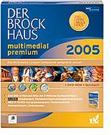 Brockhaus: the Brockhaus multimedia 2005 Premium, DVD (German) (PC) (BR06516)