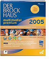 Brockhaus Der Brockhaus Multimedial 2005 Premium, DVD (deutsch) (PC) (BR06516)