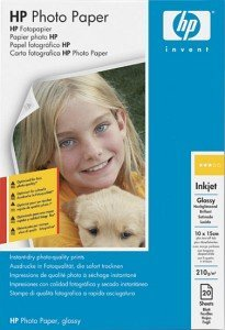 HP C7891A photo paper high gloss 10x15, 175g, 20 sheets