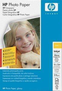 HP C7891A Fotopapier hochglänzend 10x15, 175g, 20 Blatt