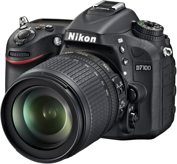 Nikon D7100 black with lens AF-S VR DX 18-105mm 3.5-5.6G ED (VBA360K001)