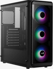 AeroCool System Integrator SI-5200 Frost, Acrylfenster (SI-5200 Frost-A-BK-v1)