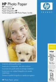 HP photo paper high gloss 10x15, 175g/m², 60 sheets (C7894A)