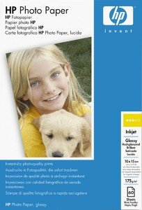HP C7894A photo paper high gloss 10x15, 175g, 60 sheets