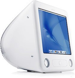 "Apple eMac G4, 17"", 700MHz, 128MB RAM, 40GB HDD, CD-RW (M8577x/A)"