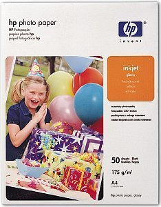HP C7897A photo paper high gloss A4, 175g, 50 sheets