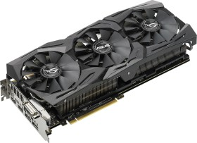 ASUS ROG Strix GeForce GTX 1080 Ti OC, ROG-STRIX-GTX1080TI-O11G-GAMING, 11GB GDDR5X, DVI, 2x HDMI, 2x DP (90YV0AM0-M0NM00)