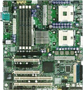 Intel SE7525GP2, iE7525 (dual reg ECC PC-2700 DDR)