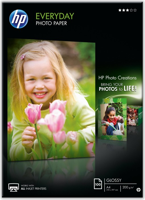 HP Q2510A photo paper glossy A4, 170g, 100 sheets