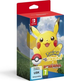 Pokémon: Let's Go - Pikachu! incl. Pokéball Plus (switch)