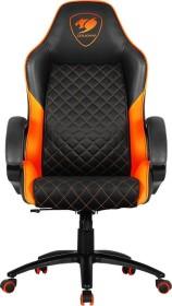 Cougar Fusion Gamingstuhl, schwarz/orange (3MFUSNXB.0001)