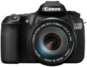 Canon EOS 60D schwarz mit Objektiv Fremdhersteller