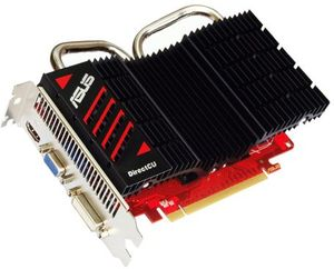 ASUS EAH6670 DC SL/DI/1GD3 DirectCU Silent, Radeon HD 6670, 1GB DDR3, VGA, DVI, HDMI (90-C1CR20-L0UAN0YZ)