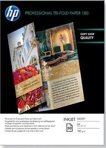 HP Q2525A Professional Inkjet paper double gefalzt high gloss A4, 180g, 50 sheets