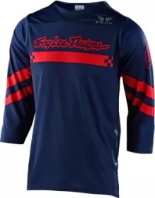 Troy Lee Designs Ruckus Factory Trikot 3/4 navy/red (Herren) (318008-00)