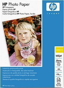 HP Q5437A photo paper high gloss A4, 175g, 25 sheets