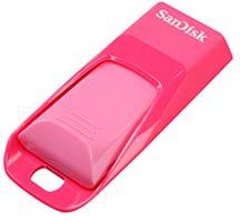 SanDisk Cruzer Edge pink 32GB, USB-A 2.0 (SDCZ51E-032G-B35K)