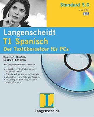 Langenscheidt T1 Standard 5.0 do hiszpański (PC) -- via Amazon Partnerprogramm