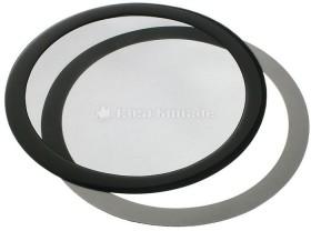 DEMCiflex dust filter 200mm circular black/black