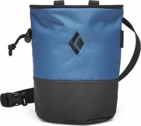 Black Diamond Mojo Zip Chalk Bag blau (BD6301559033S_M1)