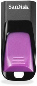 SanDisk Cruzer Edge schwarz/violett 32GB, USB-A 2.0 (SDCZ51E-032G-B35P)