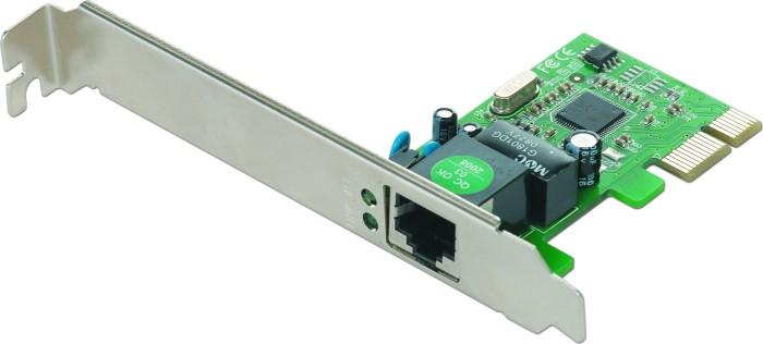 Gembird NIC-GX1, RJ-45, PCIe x1