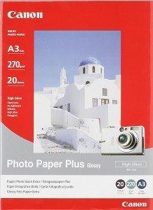 Canon PP-101 Fotopapier Plus A3, 270g, 20 Blatt (7980A013/7980A014)