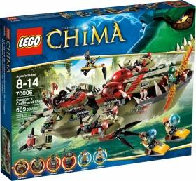 LEGO Legends of Chima Models - Cragger's Command Ship (70006)