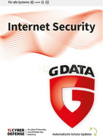GData Software InternetSecurity, 4 User, 3 Jahre, ESD (deutsch) (Multi-Device) (C2002ESD36004)
