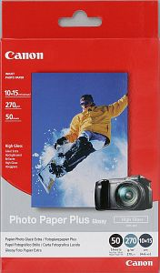 Canon PP-101 photo paper Plus 10x15, 270g, 20 sheets (7980A010)