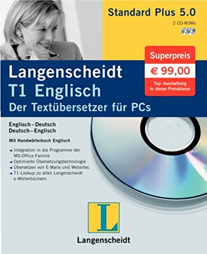 Langenscheidt T1 Standard Plus 5.0 do angielski (PC) -- via Amazon Partnerprogramm