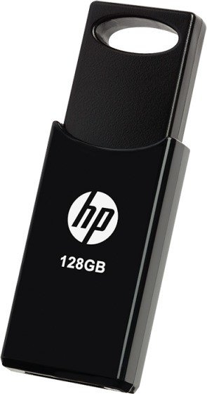 PNY HP v212w black 128GB, USB-A 2.0 (HPFD212B-128 / HPFD212W128-BX)